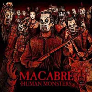 Macabre - Human Monsters cover art