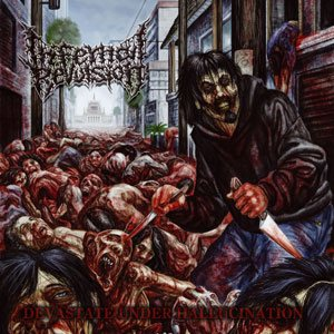 Infernal Revulsion - Devestate Under Hallucination cover art