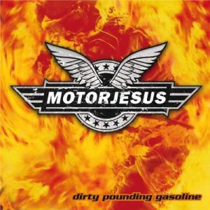 Motorjesus/The Shitheadz - Dirty Pounding Gasoline cover art