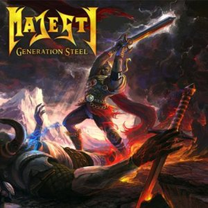 Majesty - Generation Steel cover art