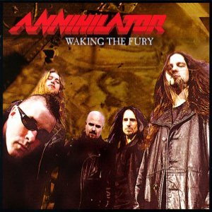 Annihilator - Waking the Fury cover art