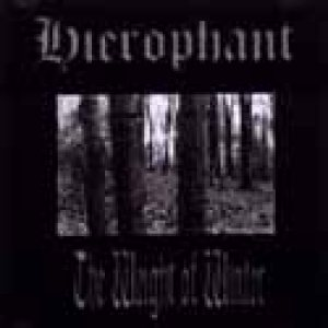 Hierophant - The Weight of Winter cover art