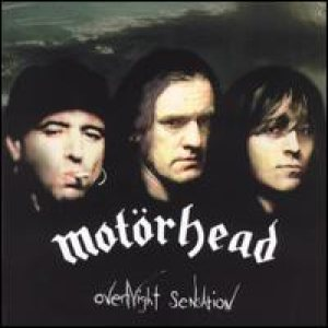 Motorhead - Overnight Sensation cover art