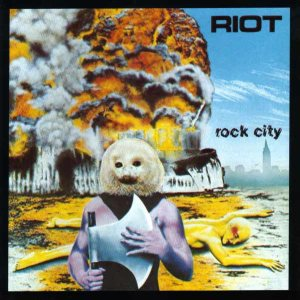 Riot - Rock City cover art