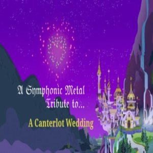 "The L-Train - A Symphonic Metal Tribute to ""A Canterlot Wedding!"" cover art"