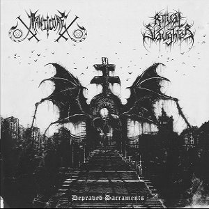 Manticore - Depraved Sacraments cover art