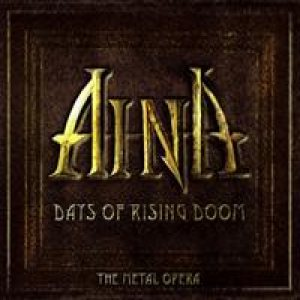 Aina - Days of Rising Doom - the Metal Opera cover art