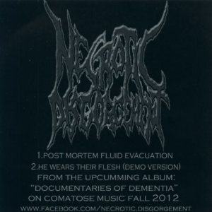 Necrotic Disgorgement - Promo 2012 cover art