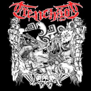 Trenchrot - Dragged Down to Hell cover art