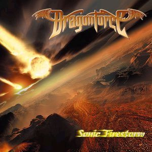 Dragonforce - Sonic Firestorm cover art