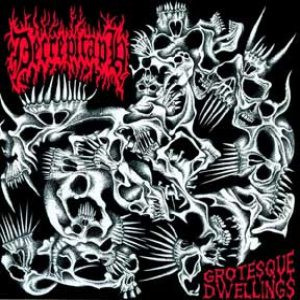 Decrepitaph - Grotesque Dwellings cover art