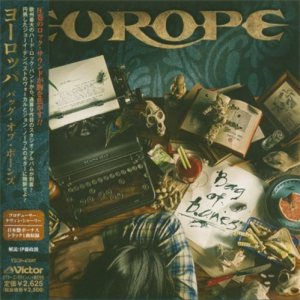 Europe - Bag of Bones cover art