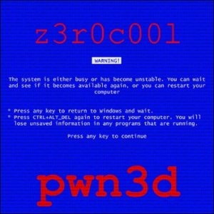 z3r0c00l - pwn3d cover art
