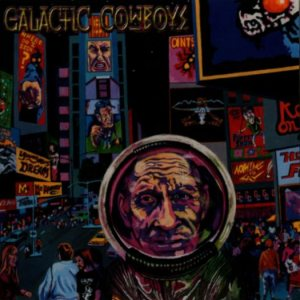 Galactic Cowboys - At the End of the Day cover art