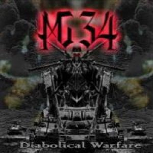 Mg-34 - Diabolical Warfare cover art