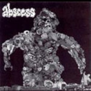 Abscess - Throbbing Black Werebeast cover art