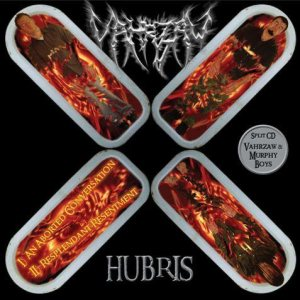 Vahrzaw - Hubris / Nightclubber cover art