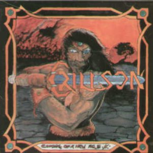 Crillson - Coming of a new age cover art
