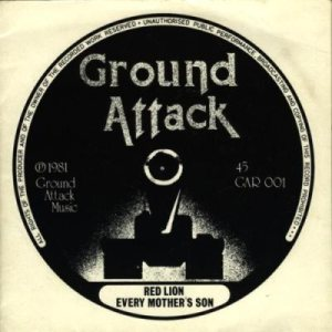 Ground Attack - Red Lion cover art