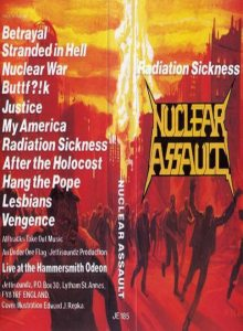 Nuclear Assault - Radiation Sickness cover art