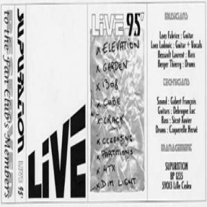 Supuration - Live 95 cover art