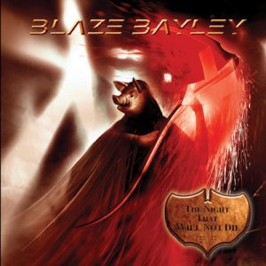Blaze Bayley - The Night That Will Not Die cover art