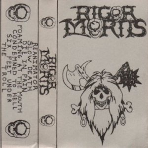 Rigor Mortis - Demo 1986 cover art