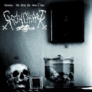 Grondhaat - Humanity: the Flesh for Satan's Pigs cover art