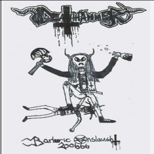 Deathhammer - Barbaric Onslaught cover art