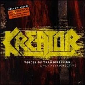 Kreator - Voices of Transgression - a 90's Retrospective cover art