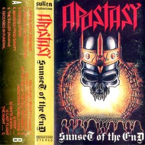 Apostasy - Sunset of the End cover art