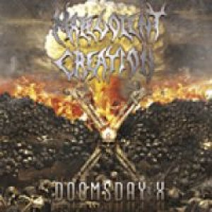 Malevolent Creation - Doomsday X cover art
