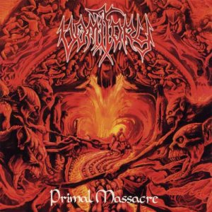 Vomitory - Primal Massacre cover art