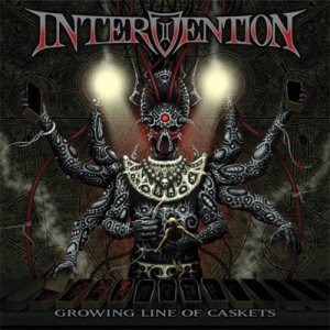 Intervention - Growing Line of Caskets cover art