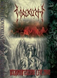 Malkuth - Nekromantikhaos Live 2008 cover art