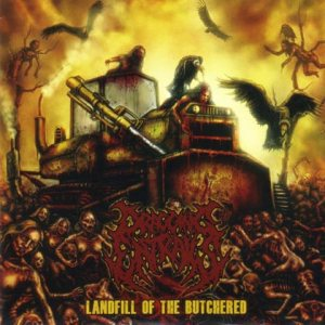 Dragging Entrails - Landfill of the Butchered cover art