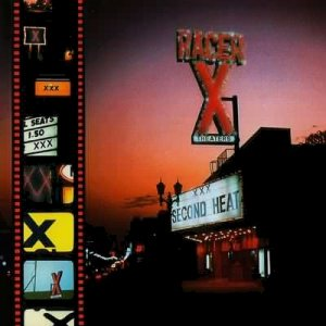 Racer X - Second Heat cover art