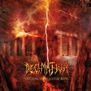 Decimation - Entering the Celestial Ruins cover art