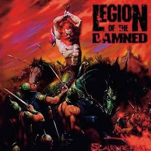 Legion of the Damned - Slaughtering... cover art