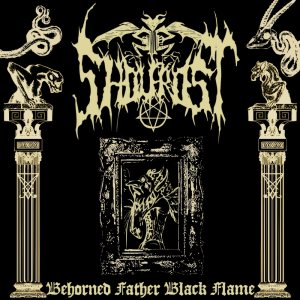 Sholfrost - Behorned Father Black Flame cover art