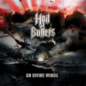 Hail of Bullets - On Divine Winds cover art