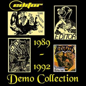 Editor - Demo Collection 89-92 cover art