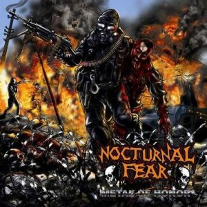Nocturnal Fear - Metal of Honor cover art