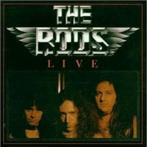 The Rods - Live cover art