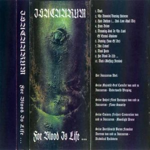 Isacaarum - For Blood is Life cover art