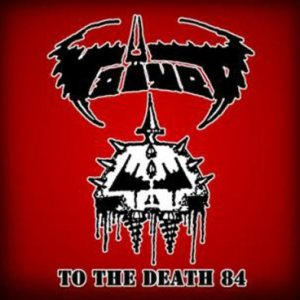 Voivod - To the Death 84 cover art