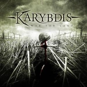 Karybdis - War for Land cover art