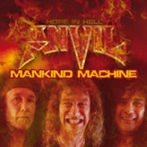 Anvil - Mankind Machine cover art