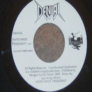 Denial - Antichrist President cover art