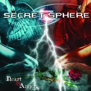 Secret Sphere - Heart and Anger cover art